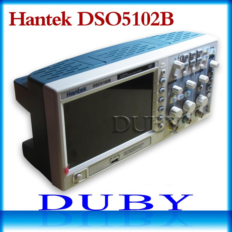 Hantek DSO5102B Digital storage oscilloscope Benchtop usb 100MHz 2CH 1GSa/s 25GSa/s,2 Channel,better than ADS1102CAL DSO5102P