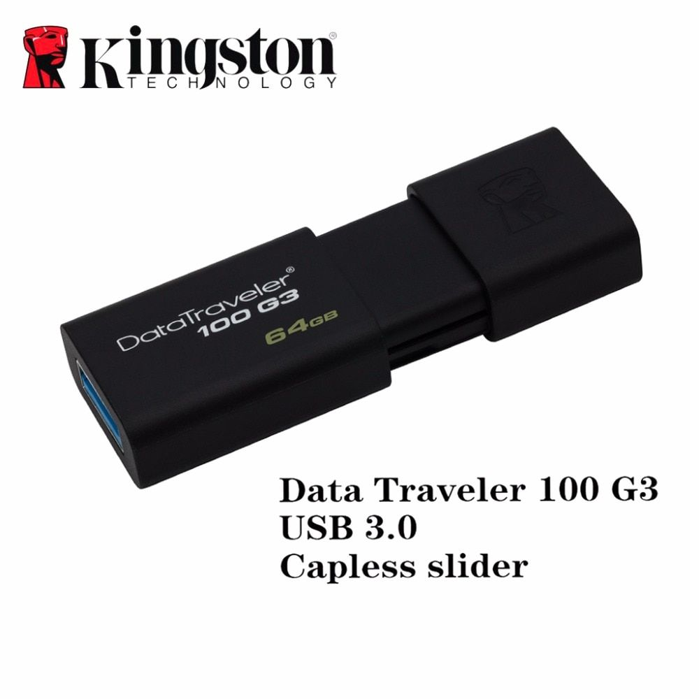 Kingston usb 3.0 flash pen drive clé usb bâton 16 gb 32 gb 64 gb 128 gb marque memoria mini usb stylo-drive caneta memory stick drive