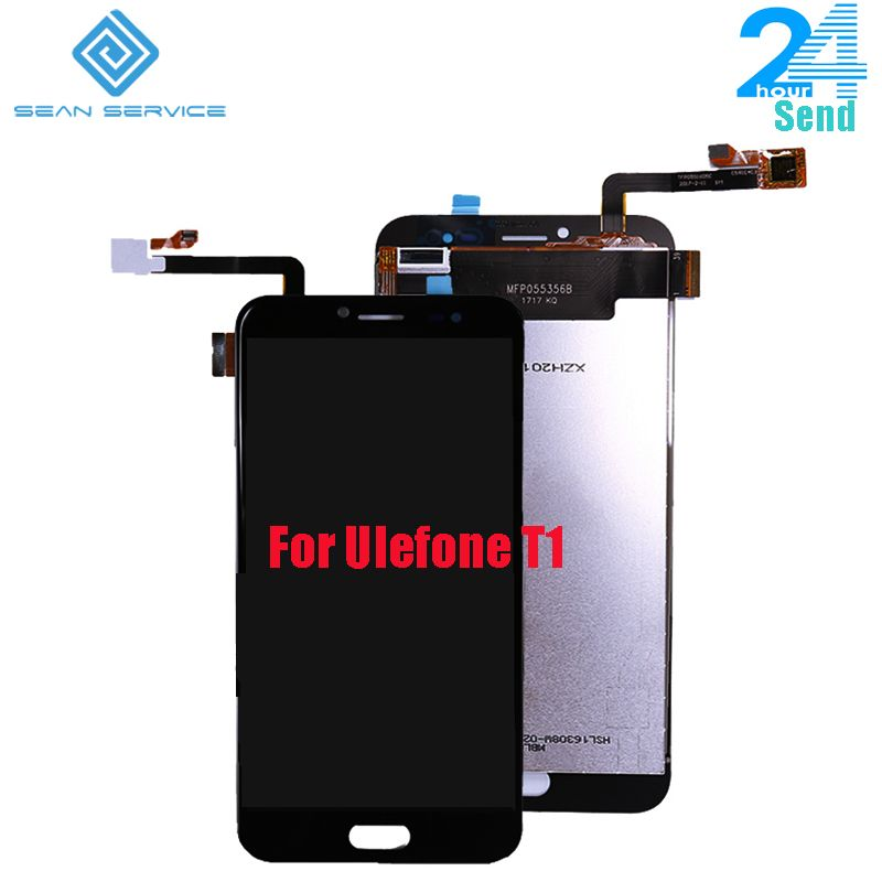 For Original <font><b>Ulefone</b></font> T1 LCD Display+Touch Screen Digitizer Assembly Replacement T1 Phone 5.5inch 1920X1080P in Stock
