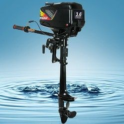 2020 New Design Best Quality 4-stroke 3.6HP HANGKAI outboard motor boat engine inflatable boat motor