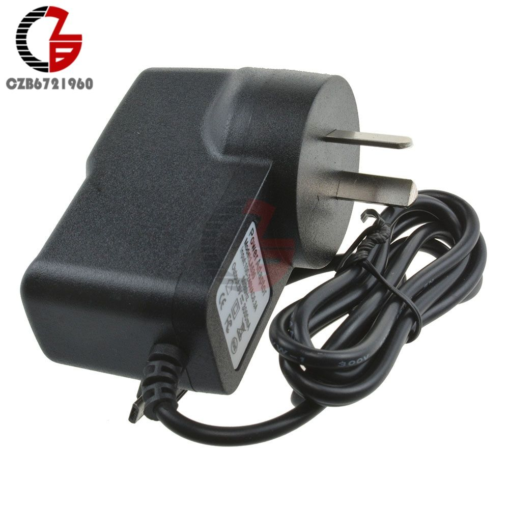 15W AC Converter Adapter 5V 3A Power Supply Charger AU plug 3000mA MICRO USB