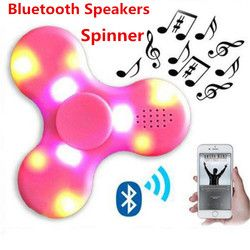 2017 COOL MINI wireless Speaker Music  EDC Hand Spinner For Autism And Kids Adult Funny Fidget hand Spinner Bluetooth Speaker