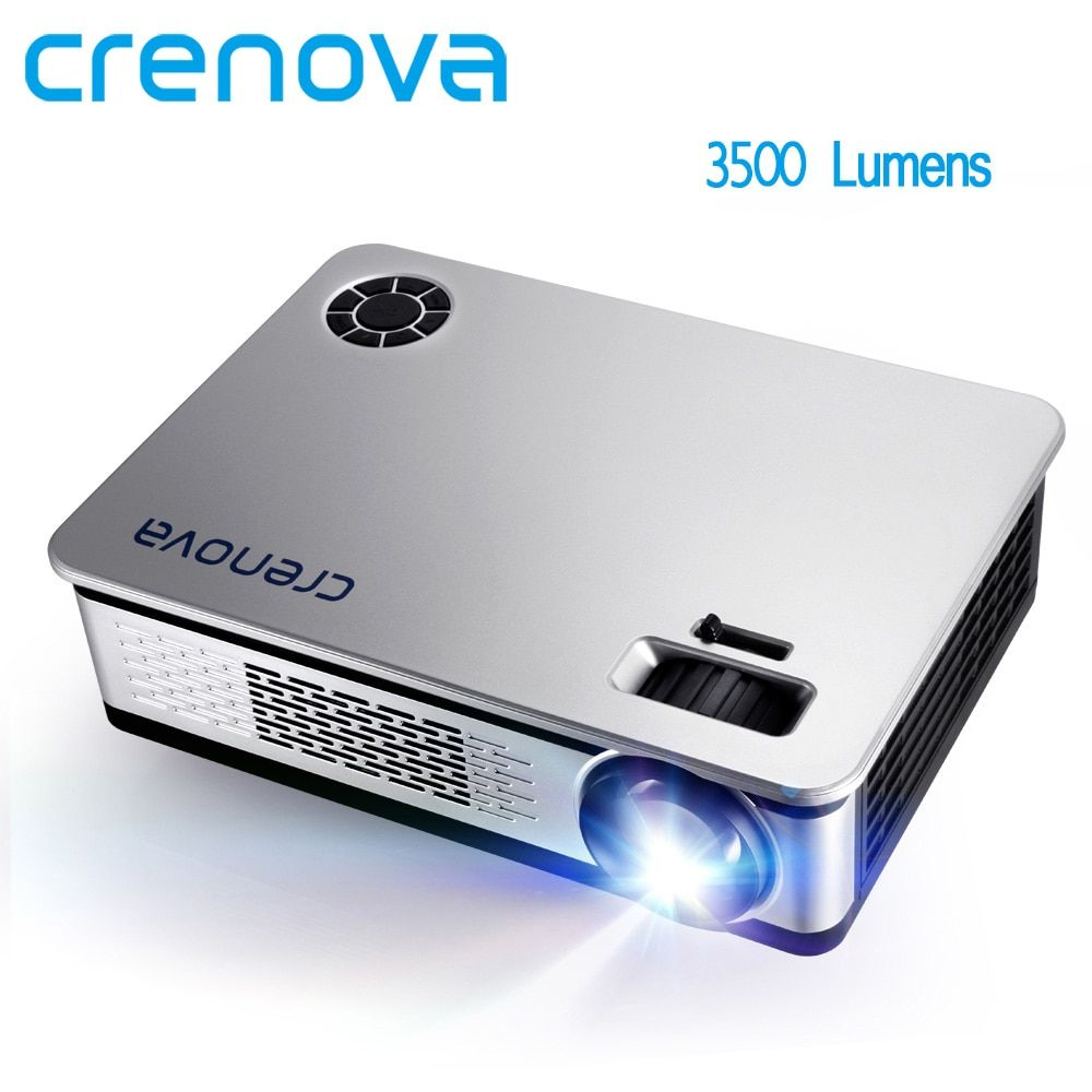CRENOVA 3500 Lumens LED Projector For Full HD Android Projector Support <font><b>1920</b></font>*1080P With WIFI Bluetooth 4.0 Android 7.1 OS Beamer
