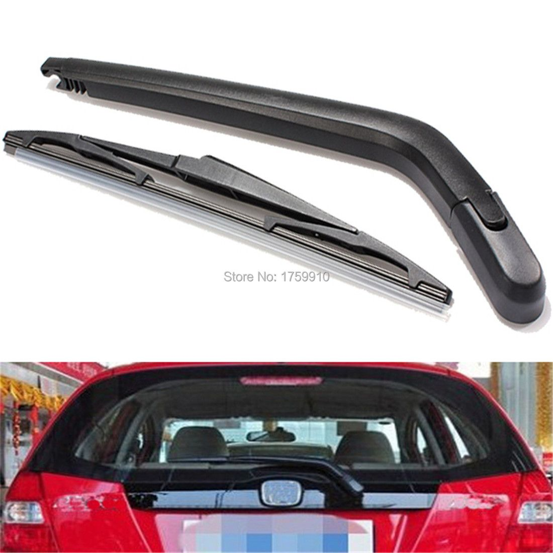 New Car Windscreen Rear Wiper Arm And Blade For Toyota Yaris/for Vitz 1999 to 2005
