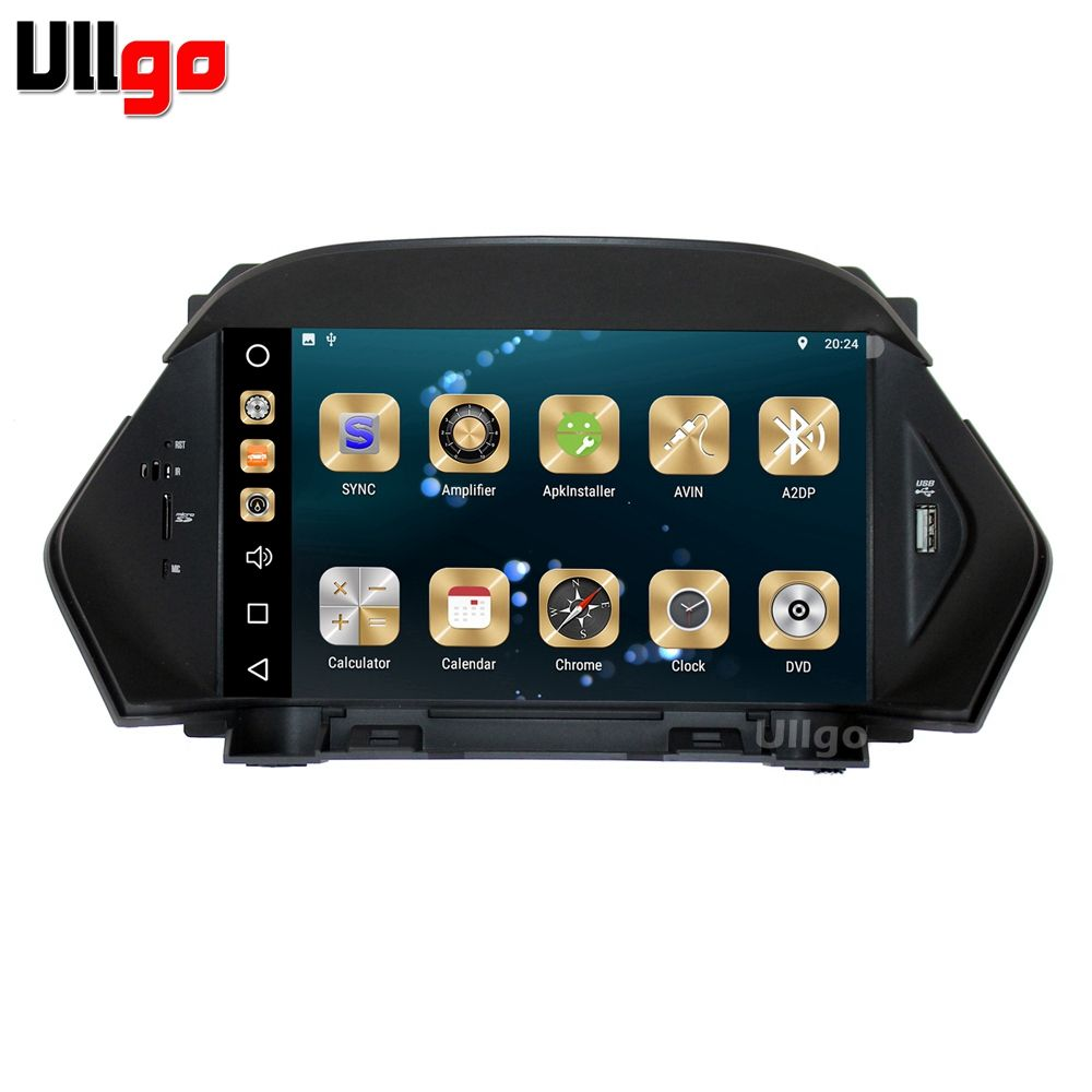 RAM 4G+ROM 32G Android 8.0 Car DVD GPS Navigation for Ford Kuga Car Head unit Autoradio GPS with BT Radio Mirror-link Wifi