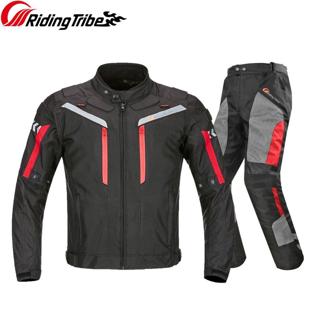 Reiten Tribe Profi Motorrad Anzug Jacke Hosen Winter Warme Sicherheit Sichtbarkeit Schutz Racing Kleidung Alle Saison JK-40