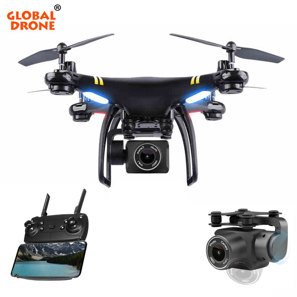 Global Drone GW-X5 GPS Drones with Camera HD WIFI FPV Dron Altitude Hold Follow Me RC Quadrocopter Camera Drone VS SYMA X8 X8G