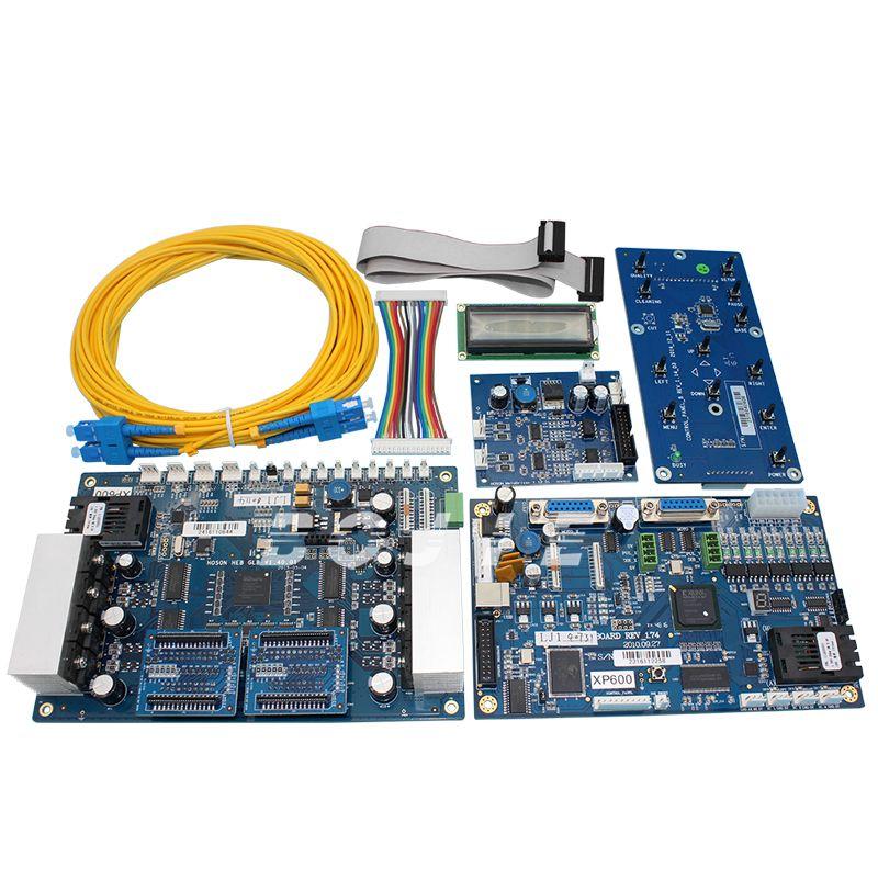 Heiße verkäufe! EIN set xp600 mainboard und kopf bord für doppel kopf xp600 eco lösungsmittel drucker (hoson system)