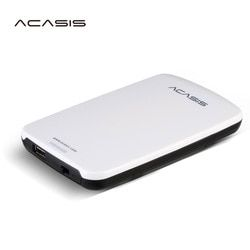 2.5 ''Acasis Asli HDD External Hard Drive 160 GB/250 Gb/320 GB/500 GB Portable penyimpanan Disk USB2.0 Memiliki Power Switch Dijual