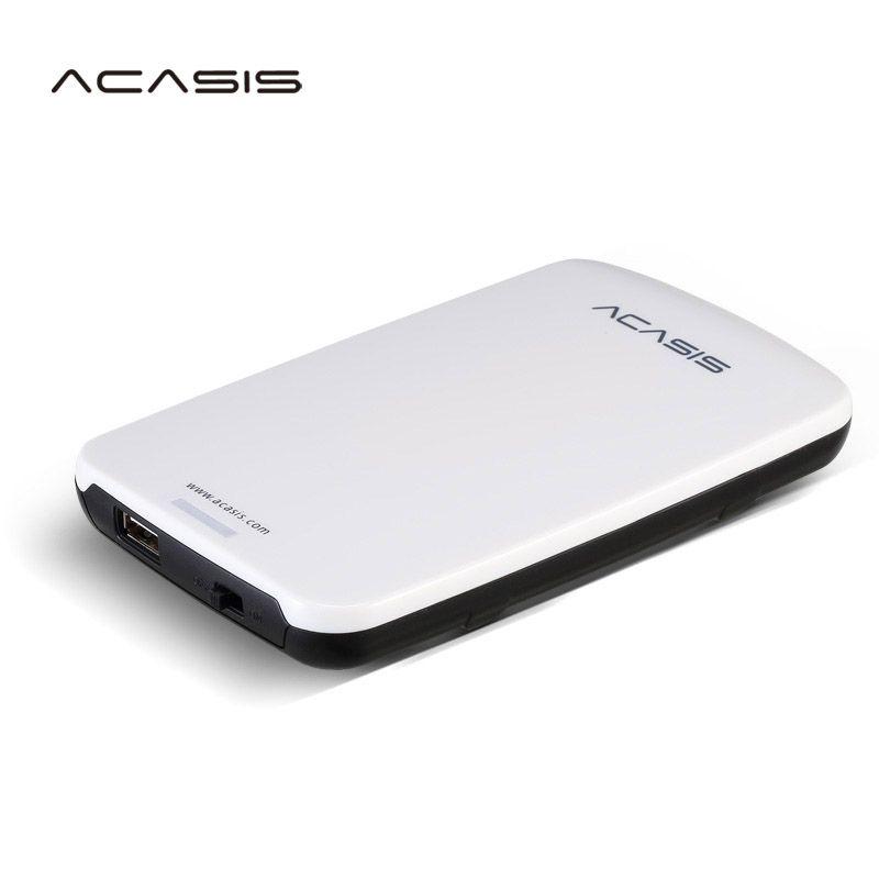 2.5 ''disque dur externe ACASIS Original HDD 160 GB/250 GB/320 GB/500 GB stockage de disque Portable USB2.0 ont interrupteur d'alimentation en vente