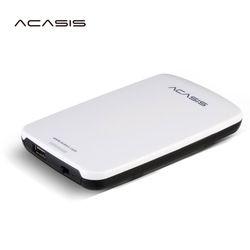 En Vente 2.5 ''ACASIS D'origine 120 GB 160 GB 320 GB 500 GB De Stockage USB2.0 HDD Disque Dur Mobile Disque Dur Externe Ont puissance commutateur