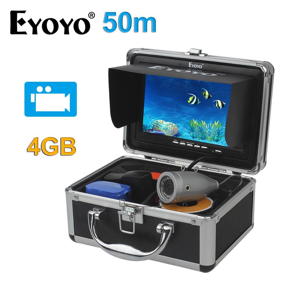 EYOYO Original HD 1000TVL 50M Underwater Fishing Camera Fish Finder Full Silver CAM 7