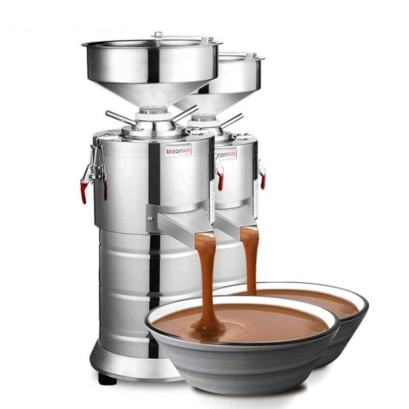 220 v Kommerziellen Elektrische Erdnuss Paste Grinder Maschine Automatische Seasame Erdnuss Mutter Paste Butter Schleifen Maschine EU/AU/ UK/US