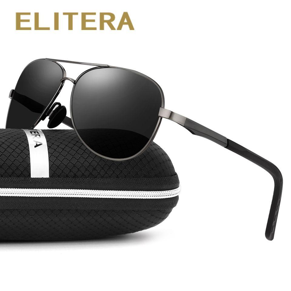 ELITERA nouveau Vintage lunettes De soleil Sport polarisées hommes marque pêche en plein air conduite Sport lunettes De soleil Oculos De Sol Masculino