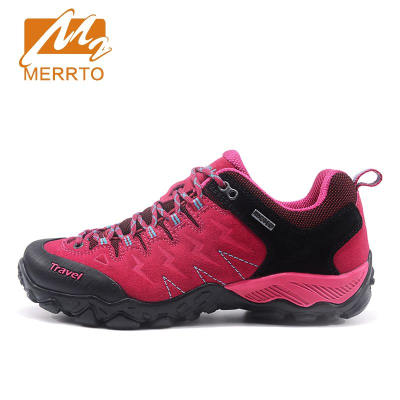 MERRTO Brand 2017 New Autumn Hiking shoes for Women Trekking Shoes High Quality Women Mountain Climbing Athletic Shoes#MT18682