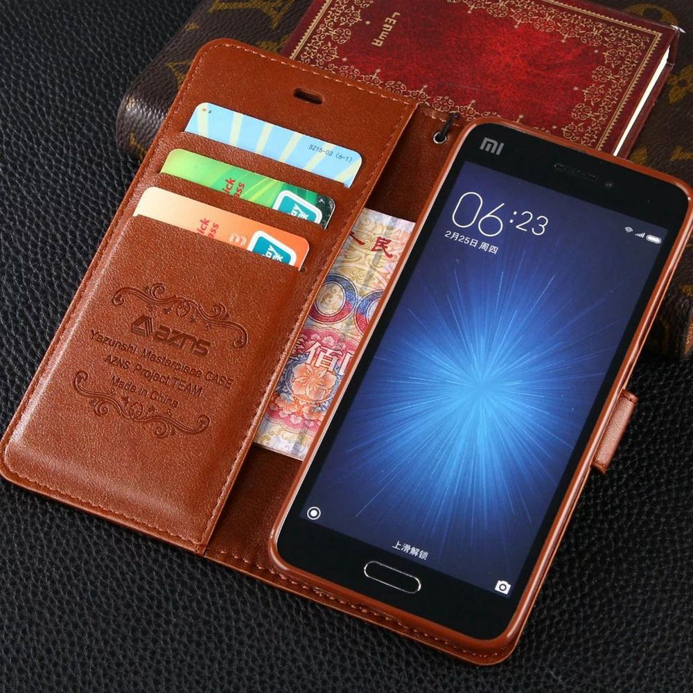 Vintage Flip Stand PU Leather Wallet Case For Xiaomi Redmi Note 5 4 4X 3 2 5A Mi 8 8SE 6 6X 5S Mi5s Plus Max Max2 Pro Mix