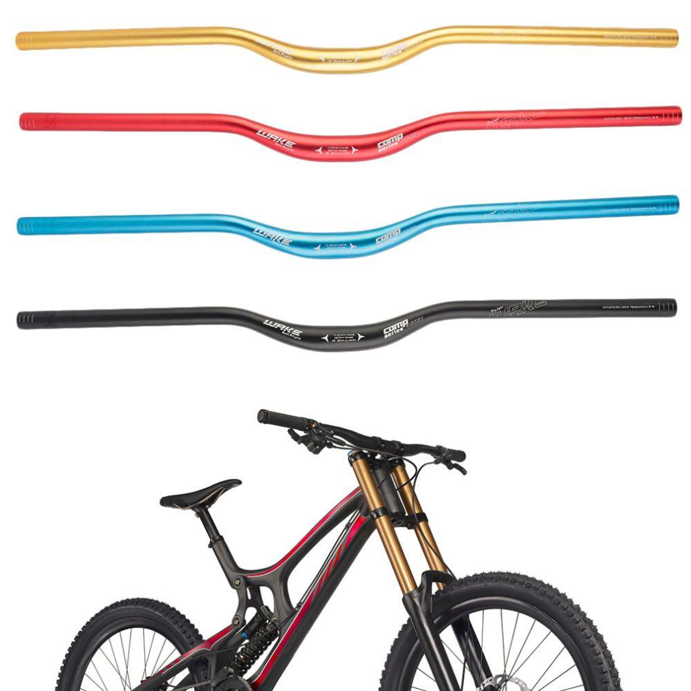 NEW 31.8 x 740 mm MTB Mountain Bike Bicycle Aluminum Alloy Riser Handlebar free shipping