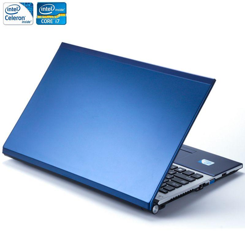15.6 pouces 8 GB RAM + 1 TB HDD i7 ou J1900 CPU Windows 7/10 Système 1920X1080 P FHD Wifi Bluetooth DVD Ordinateur Portable Ordinateur portable