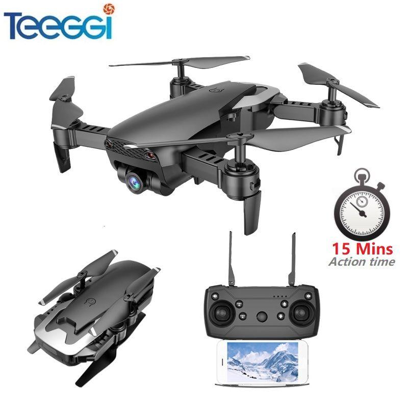Teeggi X12 FPV RC Drone with 720P Camera HD Mini Quadcopter Helicopter One Key Return Altitude Hold VS Eachine E58 X5C Dron