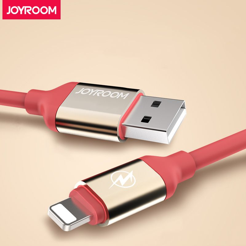 Joyroom Mobile Phone USB Data Cable For iPhone 6 7 8 X Plus IOS Fast Charger Cable 1.5m 3m For iPhone Quick Charge Cables