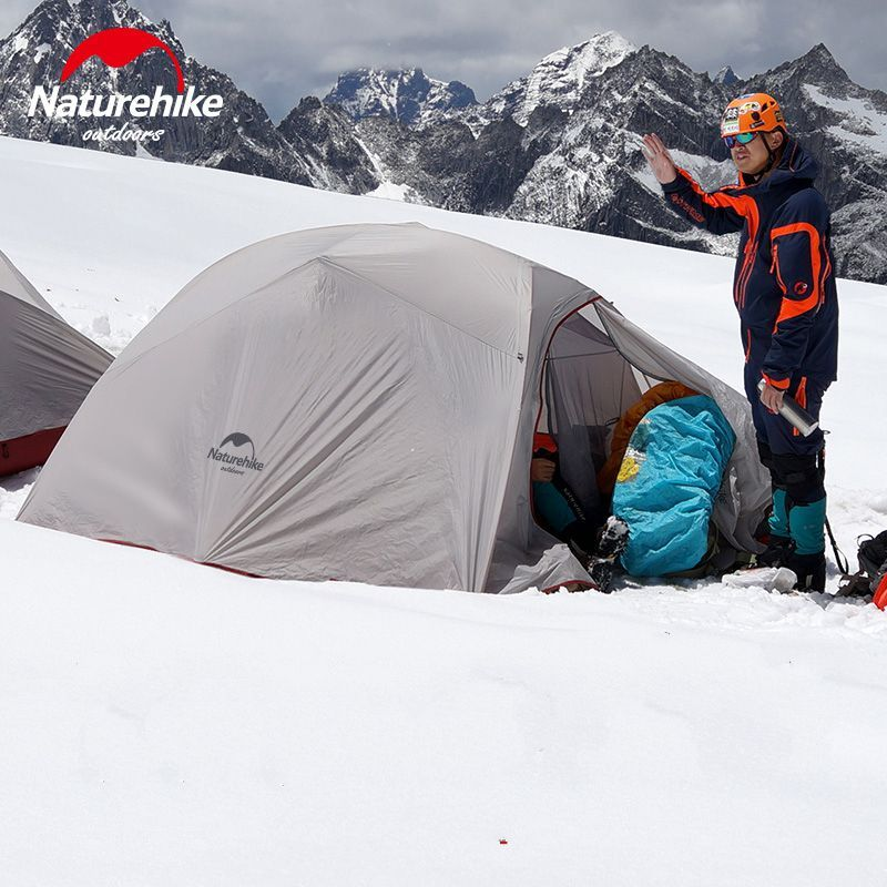 Naturehike 3 Personen Zelt Im Freien ultraleicht 3 Mann Große Lagerzelte