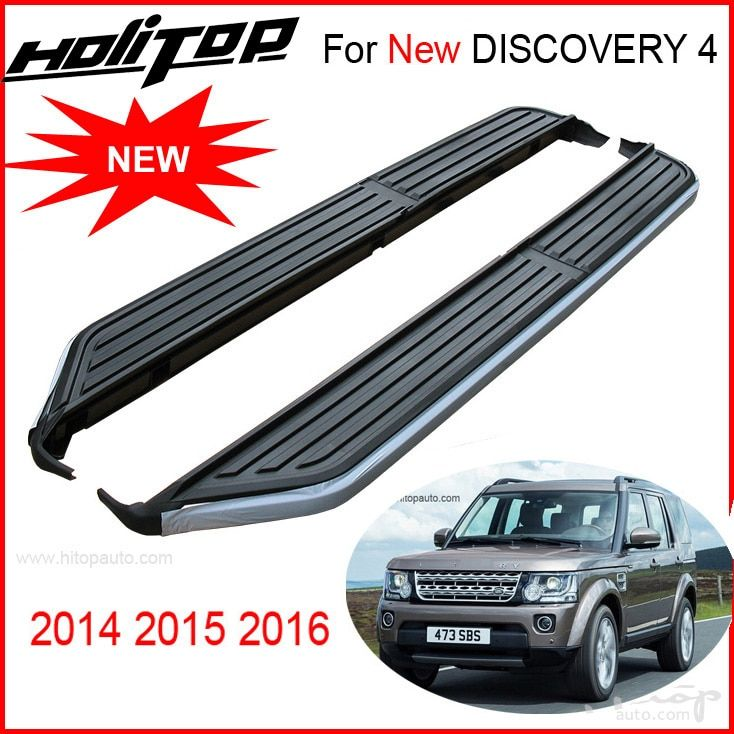 OE running board side step bar foot board pedals for LR NEW Discovery 4 2014-2017 year only, supplied by ISO9001:2008 factory