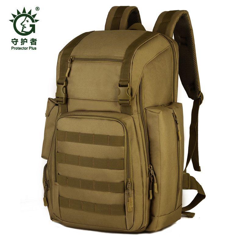 Männer taschen new military nylon 40 liter rucksack rucksack camouflage 17-zoll laptop wasserdicht reisetasche mädchen freies verschiffen