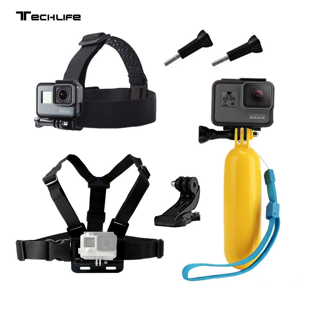 Accessoires pour Gopro hero 5 6 Poitrine Montage Pour Xiaomi Yi 4 K Pour Eken H9 Sangle SJCAM SJ4000 Pour Aller pro hero 5 caméra d'action