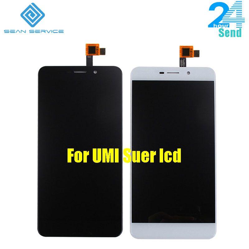 Pour Original UMI Super écran LCD et écran tactile numériseur assemblée remplacement UMI Super F-550028X2N 1920X1080 P 5.5 pouces