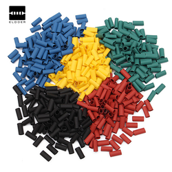 500Pcs New Arrival 3.0MM 2:1 Polyolefin Heat Shrink Tubing Tube Sleeve Sleeving Wrap 5 Colors