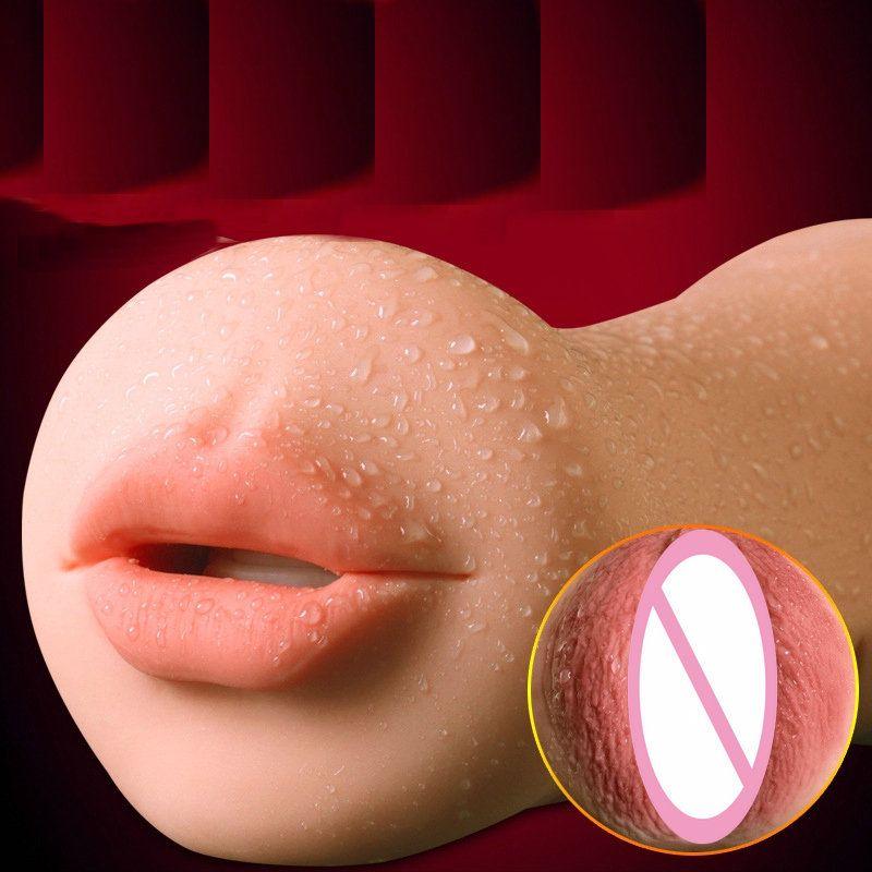 Tommart Masturbator вагины реальные киска оральный Мужской мастурбатор Глубокая глотка язык зубы гаджеты для взрослых Секс-игрушки для Для мужчин