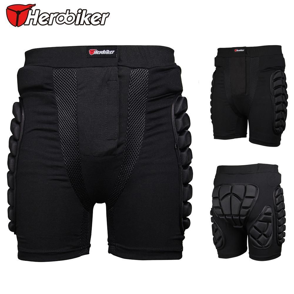 Herobike Motocross Shorts Snowboad body Armor Racing Skateboard Skiing Motorcycle Trousers Sport Protective Gear Hip Pad