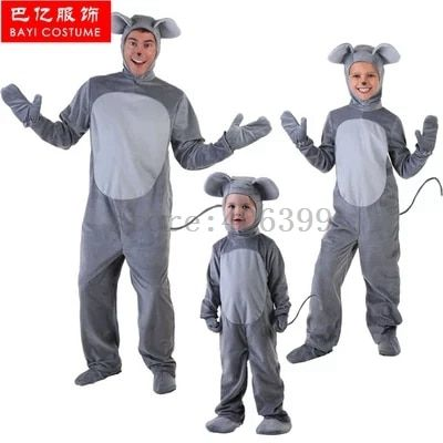 Bayi hot mouse Costume Adult Children cosplay costume for carnival party top quality