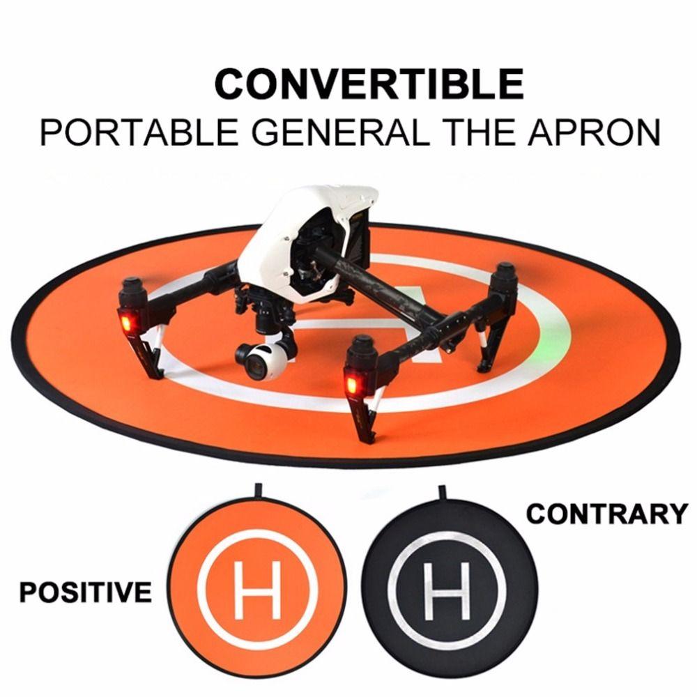 75*75cm Portable Universal Practical Parking Apron RC Drone Quadcopter Fast-fold Landing Pad Parking Apron for DJI