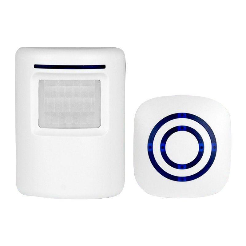 Wireless Doorbell PIR Store Shop Welcome Motion Sensor Infrared Detector Induction Alarm Door Bell Waterproof Doorbell Mayitr