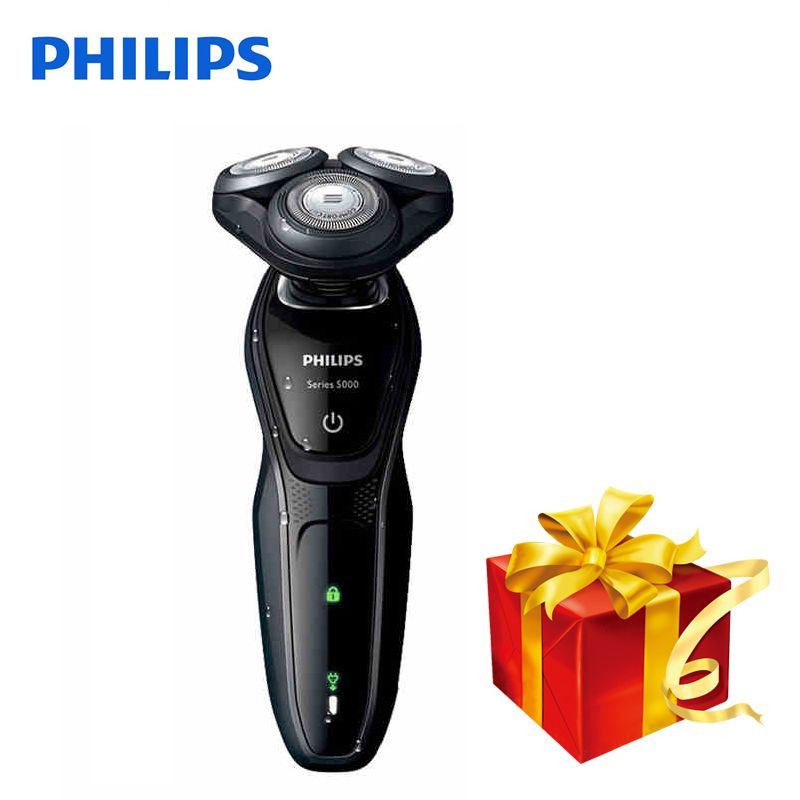 Professional Philips Electric Shaver S5079 Rotary Rechargeable Body Wash Electric Razor With Comfortable Shaving System For Men