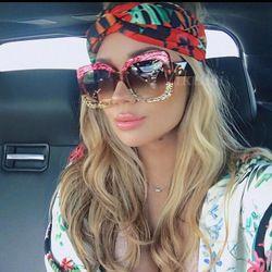 Cat Eye Lunettes De Soleil En Italie Marque De Luxe Designer Femmes Miroir lunettes de Soleil Vintage 2018 Vert Rouge Lunettes de Soleil Femme Lunettes Lunettes