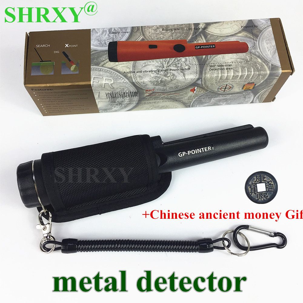 2018 upgraded Sensitive Gp-pointer Metal Detector AT Same Style Pro Pointer Pinpointing Hand Held Metal Detector with Bracelet