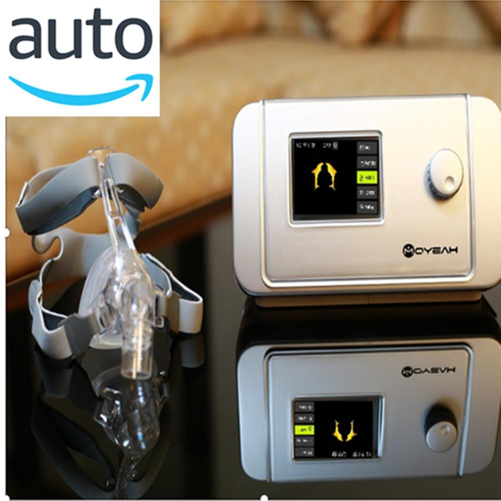 MOYEAH Auto CPAP Maschine APAP Medizinische Ventilator Mit Nasen Maske Full Face Maske Für Schlafapnoe Anti Schnarchen