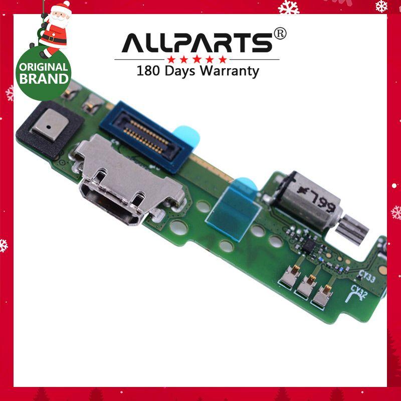 100% Testé T-PARTS USB D'ORIGINE De Charge Flex Câble pour SONY Xperia E5 F3311 F3313 Chargeur Dock avec Vibrateur Microphone