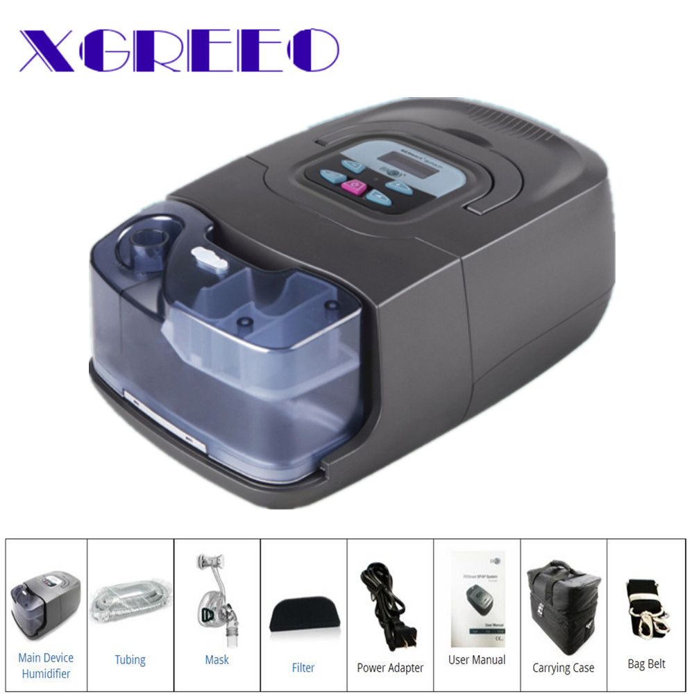 BMC XGREEO GI 25A BPAP Machine CPAP/Auto/S Mode With Nasal Mask For Sleep Apnea And COPD Therapy