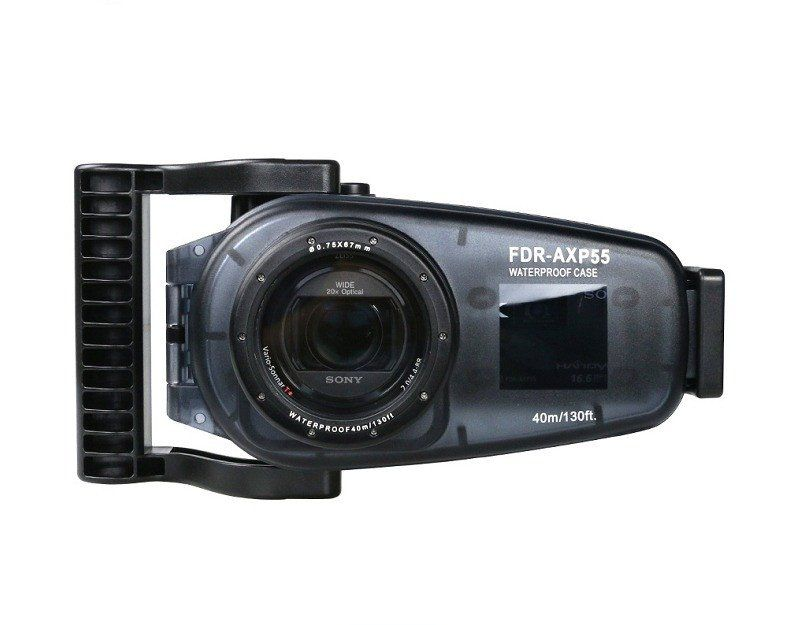 New Arrivals 40m/130ft for Sony FDR-AXP55 Underwater Video Camera Housing Waterproof Hard Case