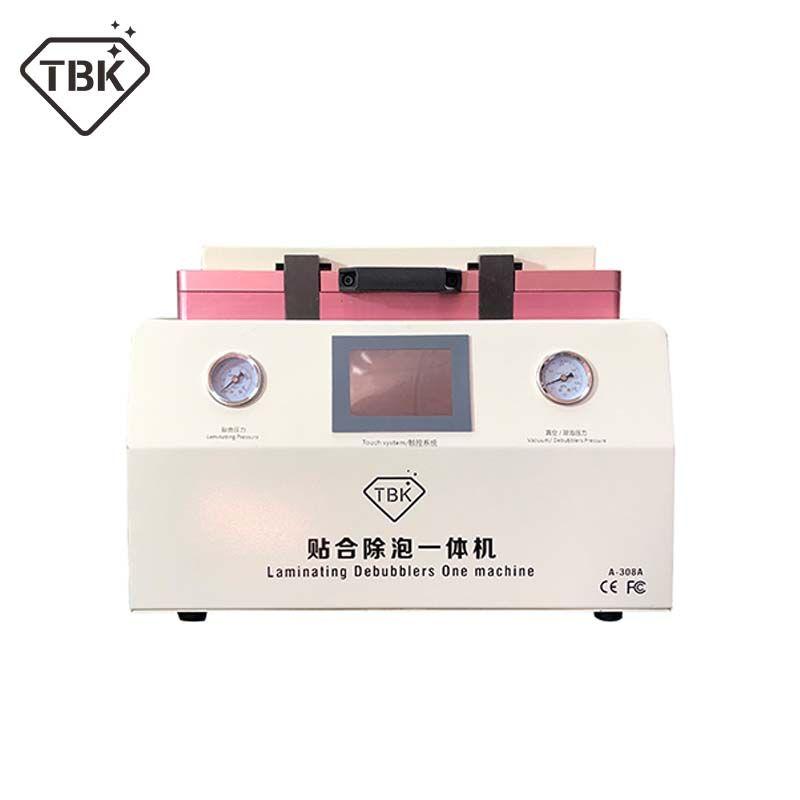 15 zoll TBK-308A LCD Touch Screen Reparatur Automatische Blase Entfernen Maschine OCA Vakuum Laminieren Maschine mit automatische sperre