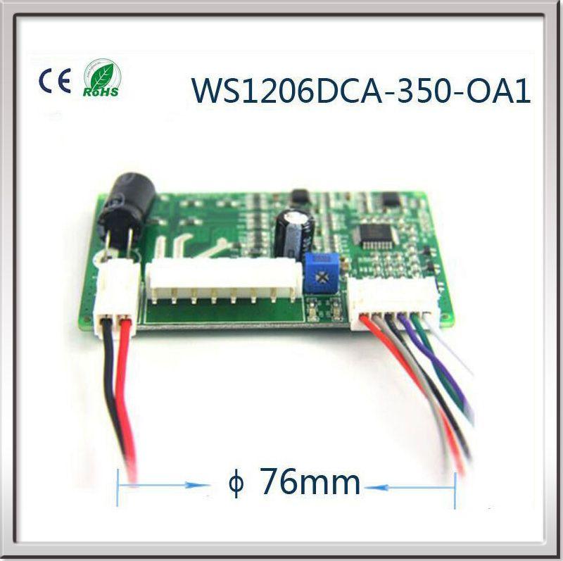 Bürstenlosen Gleichstromventilatormotor treiberplatine 12 V Bürstenlosen gleichstrommotor controller DC motor drehzahlregler schrittmotortreiber controller