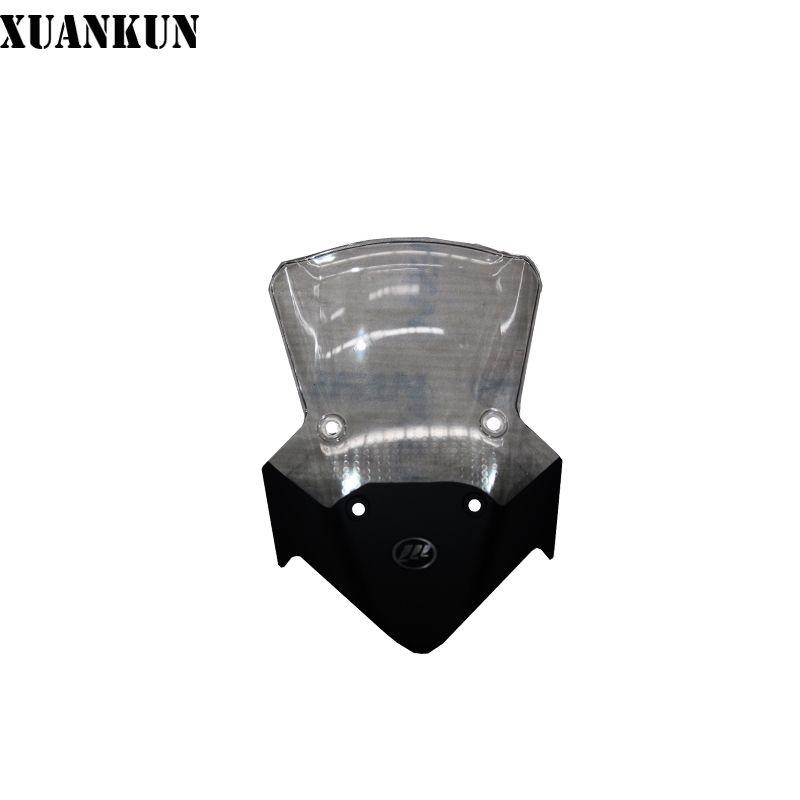 XUANKUN Motorcycle KPT200 / LF200-10L Windshield Assembly