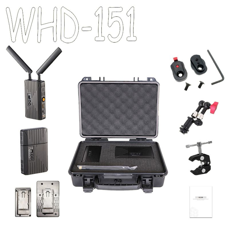 SEETEC WHD151 HDMI/SDI 150 m/500ft 5 GHz Wireless Transmission System 3G 1080 P HD Video TV Broadcast-Sender und Empfänger