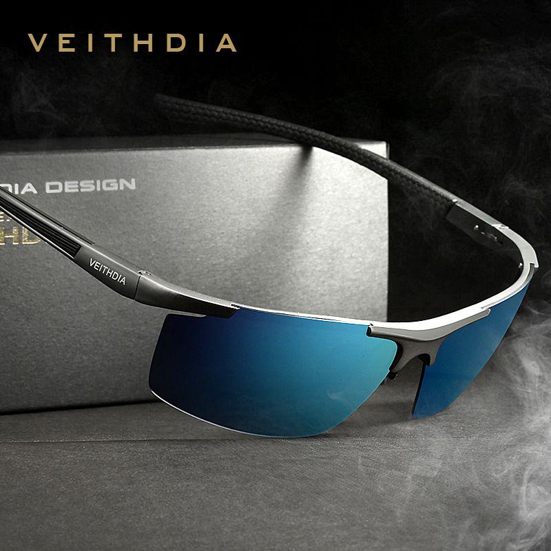 Авиатор Алюминий магния Солнцезащитные очки для женщин поляризационные S Для мужчин покрытие зеркало вождения Защита от солнца Очки Мужско...