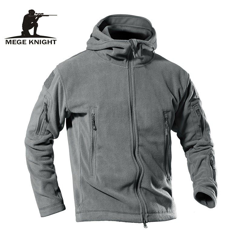 MEGE Dropshipping Suppliers Men's Winter Fleece Jacket Outdoor Sport Warm Hiking Camping Trekking Skiing Casual Sportswear 4XL