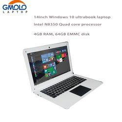 14 pouces Pour Ordinateur Portable PC Ordinateur Portable Windows10 Qual Core En-tel Atom X5-Z8350 4G 64G MEM Wifi Webcam PC Tablet
