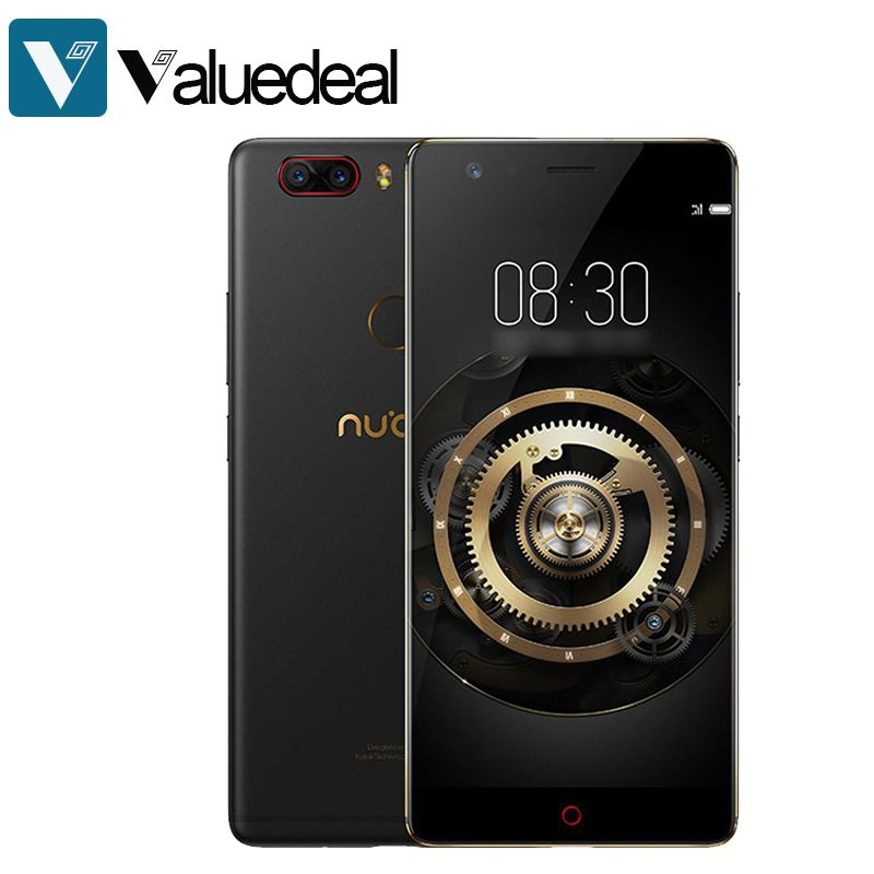 Global Nubia Z17 <font><b>Lite</b></font> Android 7.1 5.5 Inch 4G LTE Smartphone 6GB 64GB 13.0MP Dual Rear Camera Snapdragon 653 Octa Core phone